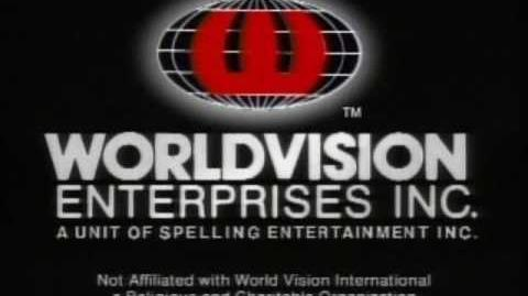 Worldvision Enterprises logo (1991 - high tone)