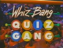 Whiz bang quiz gang
