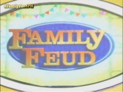 Family Feud 2016 Podium