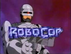 RoboCop animated title screen