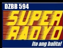 DZBB 594 Super Radyo Logo (2002-2007)