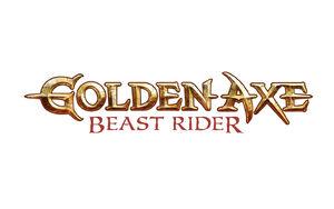 Golden Axe Beast Rider Logo Wallpaper