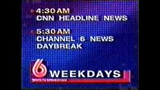 WBRC's Channel 6 News and CNN Headline News Morning promo from 1996