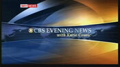 CBS Evening News with Katie Couric (2006 - Widescreen)