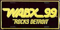 WABX 99 - DETROIT ROCKS