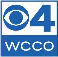Blue wcco 4 logo