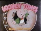 Looney Tunes logo (Porky's Bear Facts)