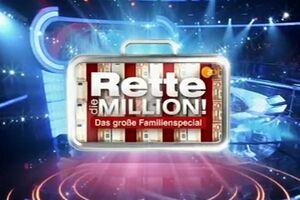 Rette die Million! Familienspecial logo