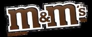 M&M's logo tilted