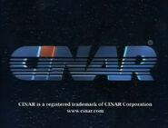 Cinar 1993 logo with latter byline