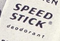 Speed Stick 1960s logo