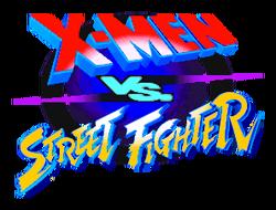 X-Men vs Street Fighter Logo