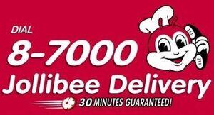 Jollibee Delivery Logo