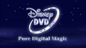 Disney DVD 2001 Pure Digital Magic