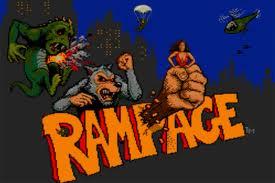 Rampage game logo