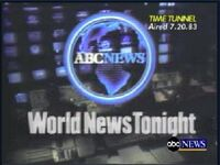 World News Tonight 1982 a