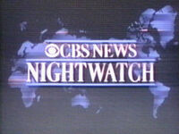CBS Nightwatch 1988