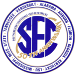 Southeastern Conference logo (50th anniversary)
