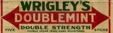 Doublemint old logo 1914