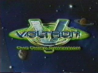 Voltron The Thrid Dimesion logo