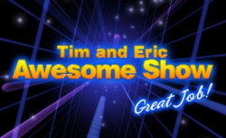 Tim & Eric Awesome Show, Great Job!