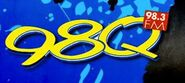 WDAQ-FM's 98Q Logo From April 2012