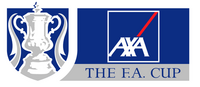 The FA Cup logo (Axa sponsor, 1998-2002)