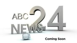 ABC News 24 pre-launch
