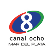 Canal 8 MDP (TELEFE) - Logo 2008-2010