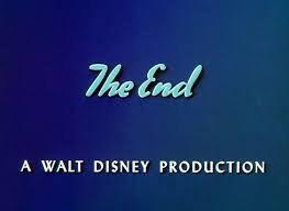 Image The End A Walt Disney Production Logo Blue