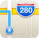IOS Maps icon