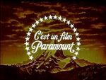 Rare French titled Paramount logo