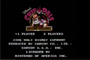 Chip 'N Dale RR video game by Nintendo