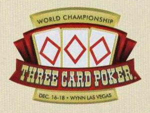 WORLD CHAMPIONSHIP THREE CARD POKER
