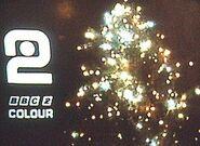 BBC2 Christmas ident 1967-1971 slide 2
