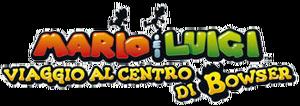 Mario&LuigiViaggioAlCentroDiBowserLogo