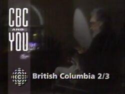 CBC British Columbia 1991