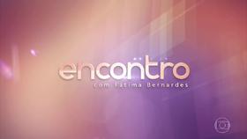 Encontro com Fatima Bernardes Globo 2016