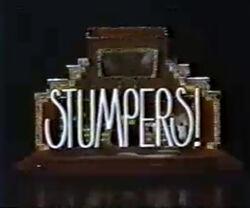 Stumpers!