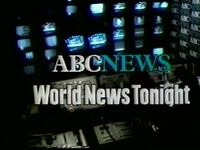 World News Tonight 1981 a