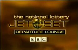 The national lottery jet set departure loung
