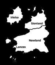 Anglosaw map Lanzes-Newland