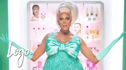 RuPaul's Drag Race RuVeal Season 8 Official Promo Logo