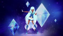 Talia's Transformation pose