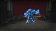Fireman Blue Headless Zombie