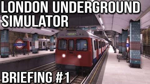 London Underground Simulator - Briefing 1 (World of Subways 3)