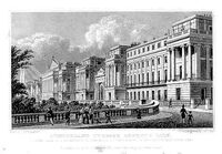 Cumberland Terrace by Thomas Hosmer Shepherd 1827-28