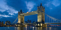 Tower bridge London Twilight - November 2006