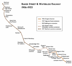 Baker Street & Waterloo Railway