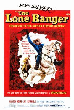 Lone Ranger 1956 poster